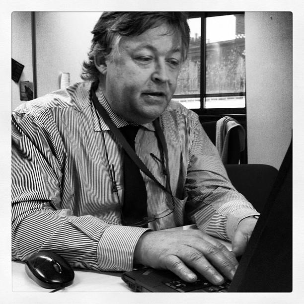 Christophe Bonnal, expert au CNES, répond aux questions des internautes. Crédits : CNES