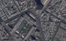 Paris vue par Pléiades (après traitement de l'image)