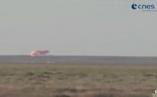 Mission Proxima - atterrissage de Thomas Pesquet au Kazakhstan le 2/06/2017