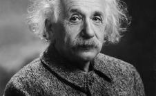 Albert Einstein en 1945