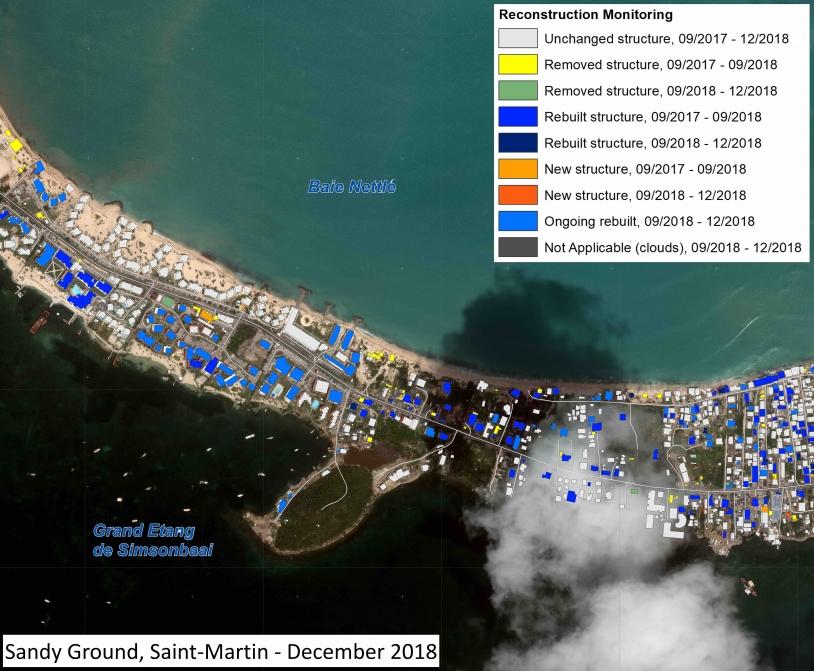 Suivi de la reconstruction à Saint-Martin après l'ouragan Irma