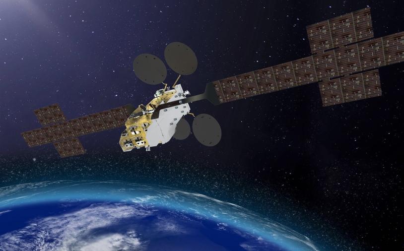 Illustration du satellite Konnect VHTS