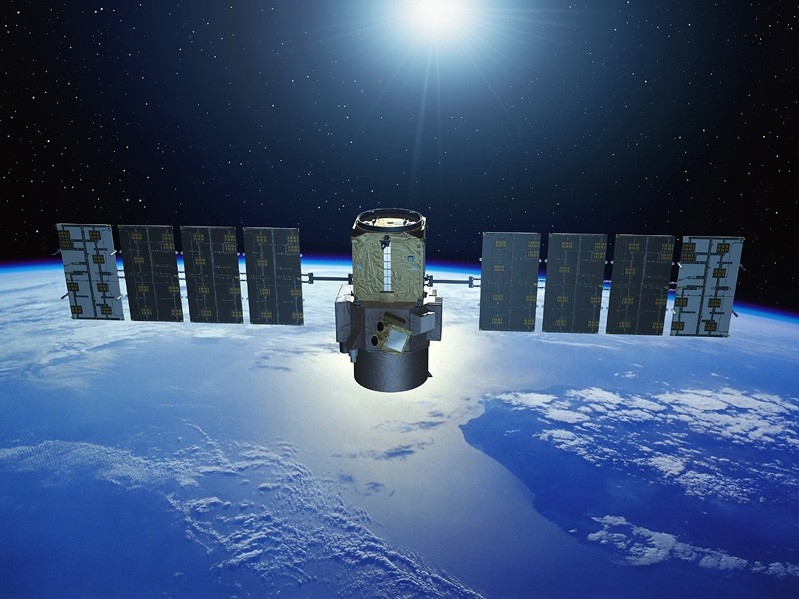 The Calipso satellite is studying the effects of clouds and aerosols on climate. Credit: Ill. CNES/P. Carril.