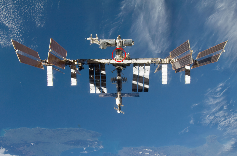 The DECLIC instrument was installed in the International Space Station's Destiny module in 2009. Credits: NASA.