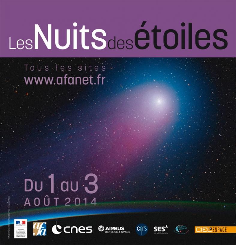 Rosetta et les comètes sont les invitées spéciales de la 24e édition des Nuits des étoiles.